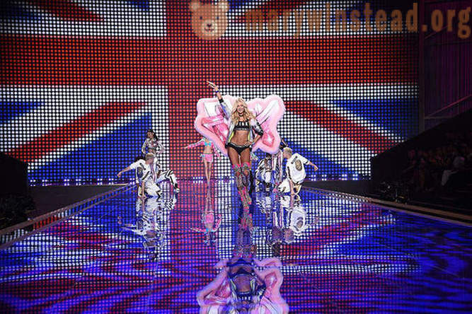 Como lo demostró la manera de Victoria Secret 2014 Londres